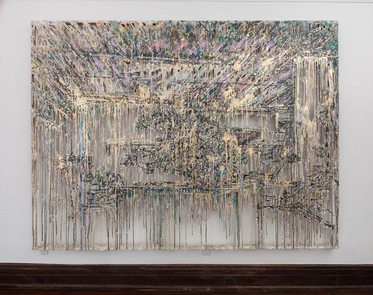 Diana Al-Hadid, Dust Unsettled, 2014.