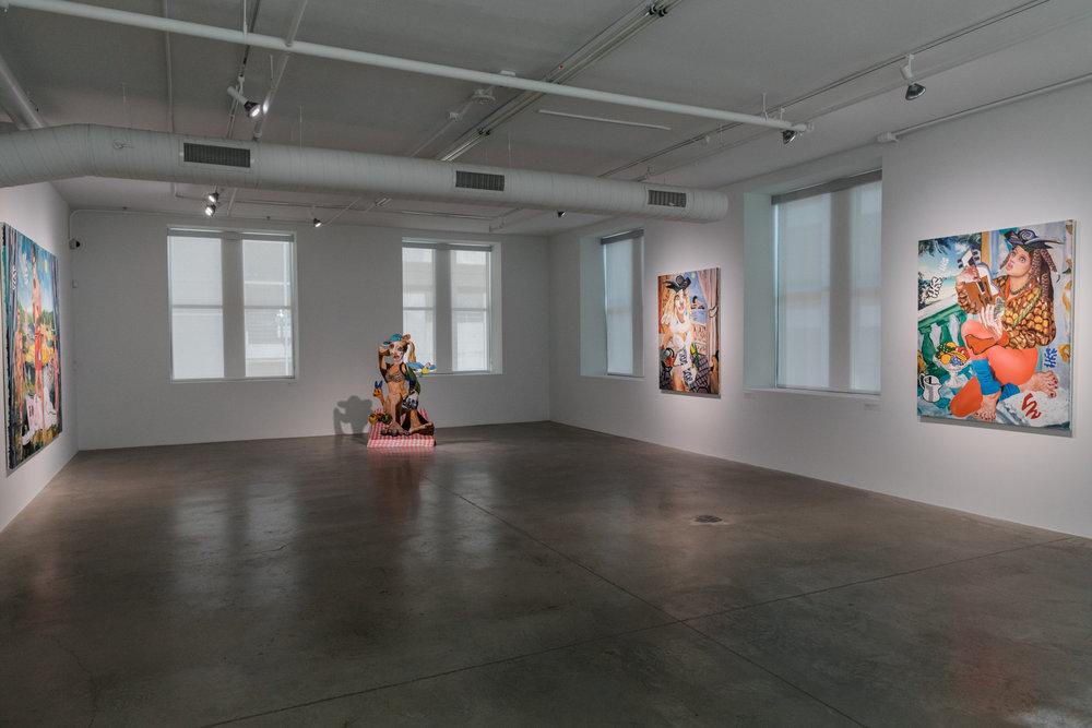 Allison Zuckerman, GO FIGURE, Pizzuti Collection.