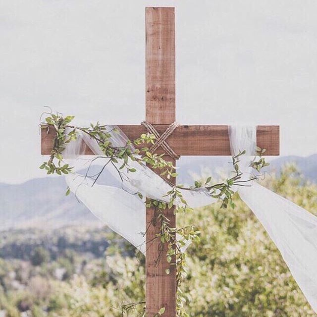 """Eek! Hello again sweet friends and followers! It's been a while, but today is the perfect day to sign back on! It's GOOD FRIDAY!⠀ ⠀ """"For our sake he made him to be sin who knew no sin, so that in him we might become the righteousness of God"""". - 2 Corinthians 5:21 On this Good Friday, we especially need to be reminded of these words. There is not one sentence more important than this one.⠀ ⠀ Scotty Smith so eloquently writes — """"There's nothing more to be done, concerning our salvation, and for the renewal and restoration of the cosmos. Once and for all, perfectly and fully, we have been reconciled to God...Hallelujah, the Just died for the unjust, the Beautiful One for the broken ones, the Lamb of God for the rebels from God. We praise, bless, and adore you, Lord Jesus...Because you were fully forsaken, we are forever forgiven. Because you exhausted God's judgment against our great unrighteousness, we now live by the gift of your perfect righteousness.""""⠀ ⠀ • IT IS FINISHED • """"Released from my chains I'm a prisoner no more, My shame was a ransom He faithfully bore, He cancelled my debt and He called me His friend, When death was arrested and my life began""""⠀ ⠀ Image   @borrowednblue"""