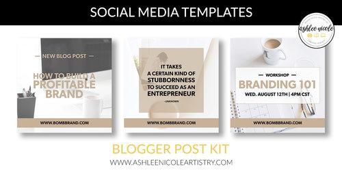 Social media templates blogger post kit ashlee nicole artistry llc social media templates blogger post kit maxwellsz