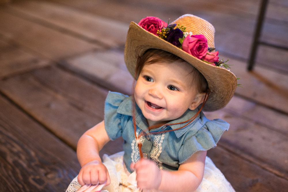 1st birthday cowgirl party