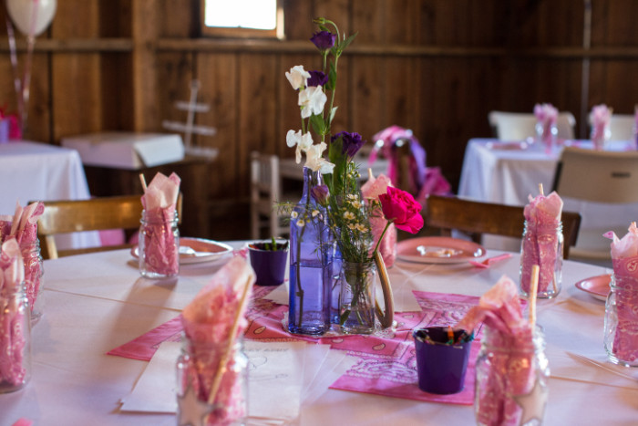 cowgirl party bandana place settings