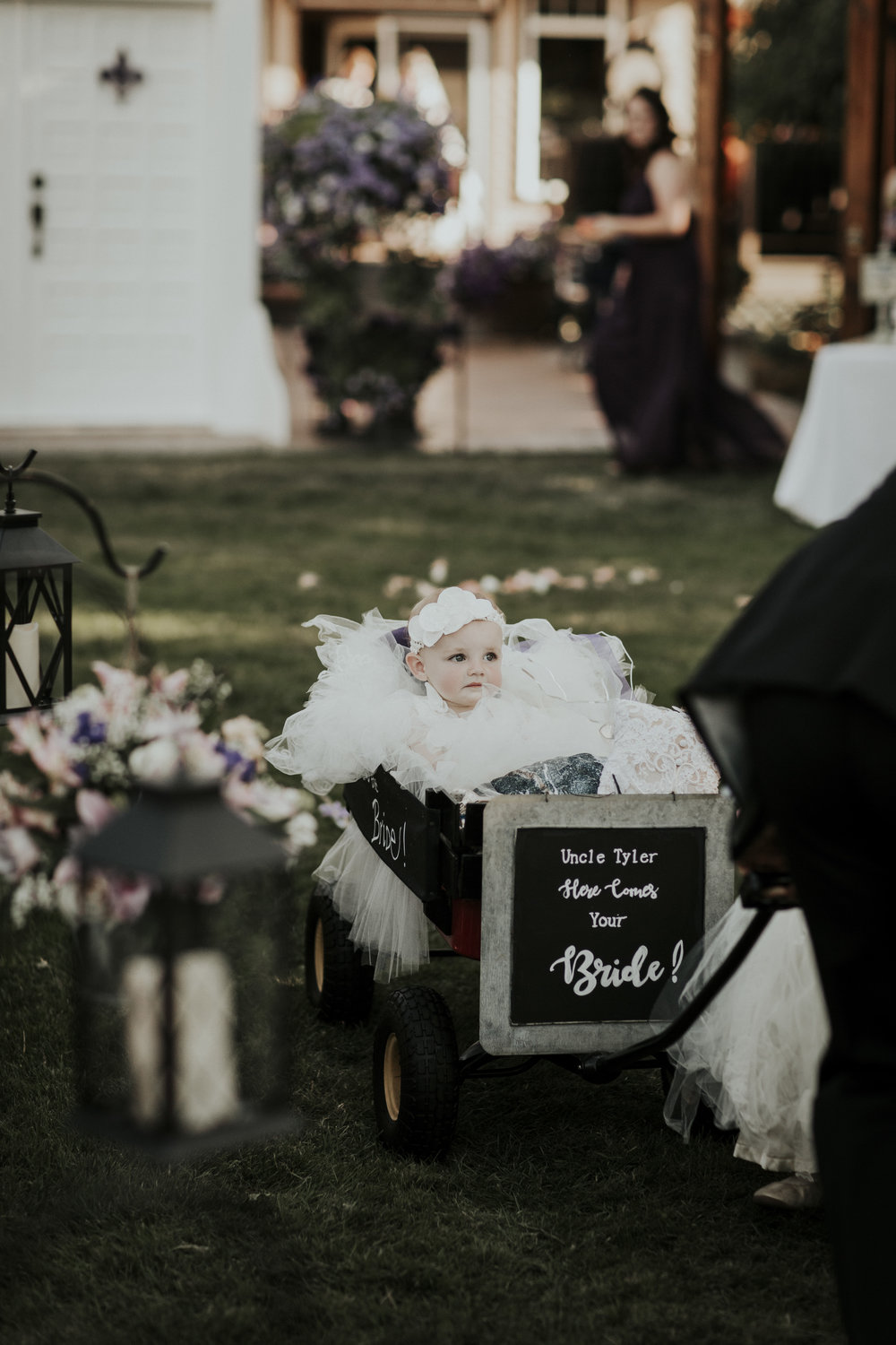 fairytale wedding flower girl