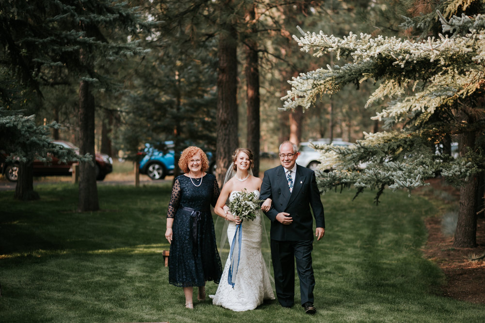 SunRiver Destination Wedding ceremony
