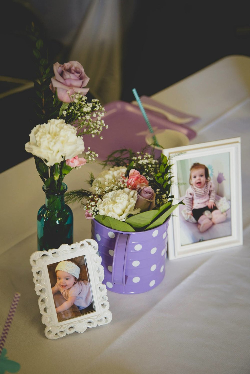First Birthday Party Centerpiece Ideas
