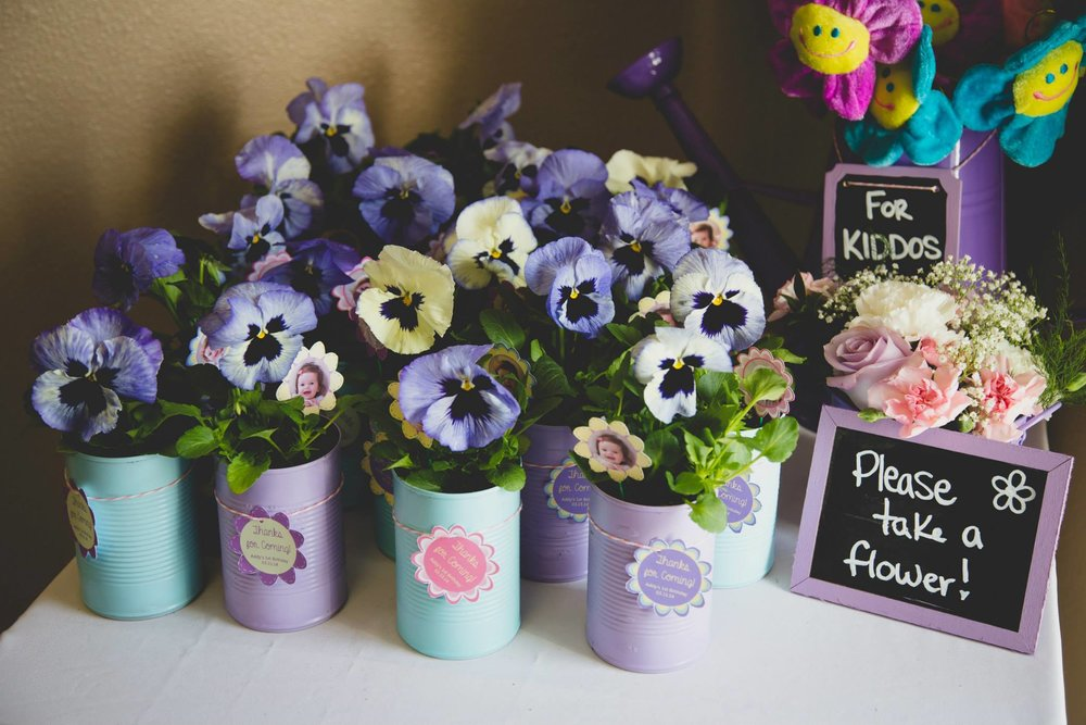 Spring Birthday Party Favor Ideas