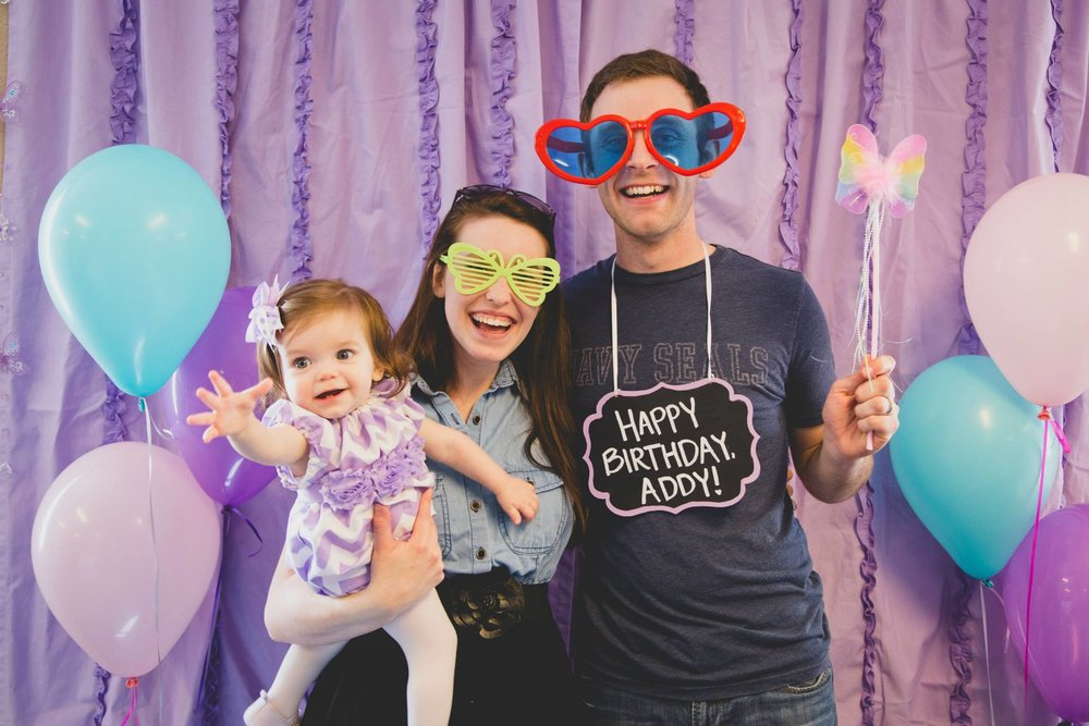 First Birthday Party Photobooth