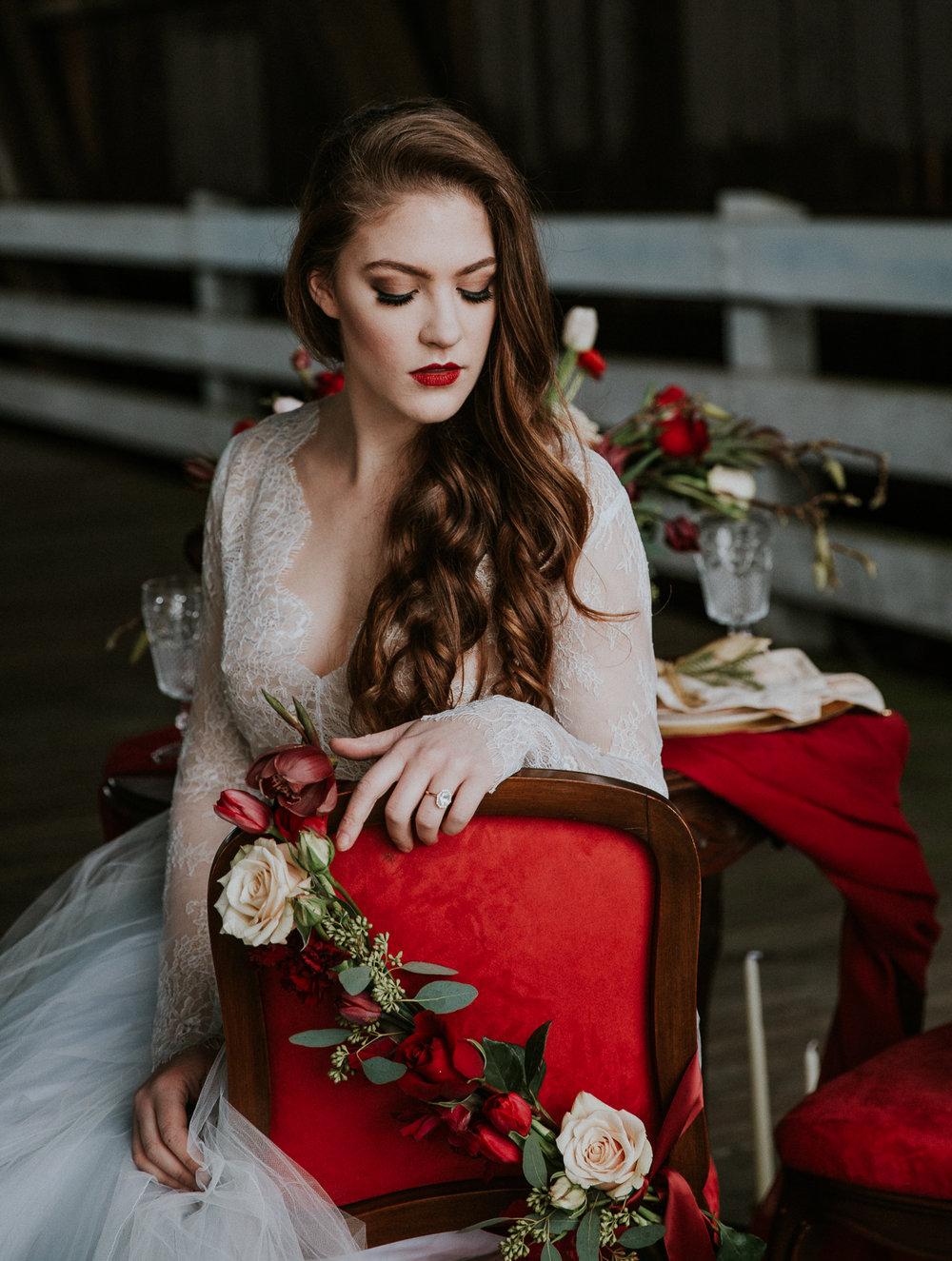 Valentine's Bridal Inspiration