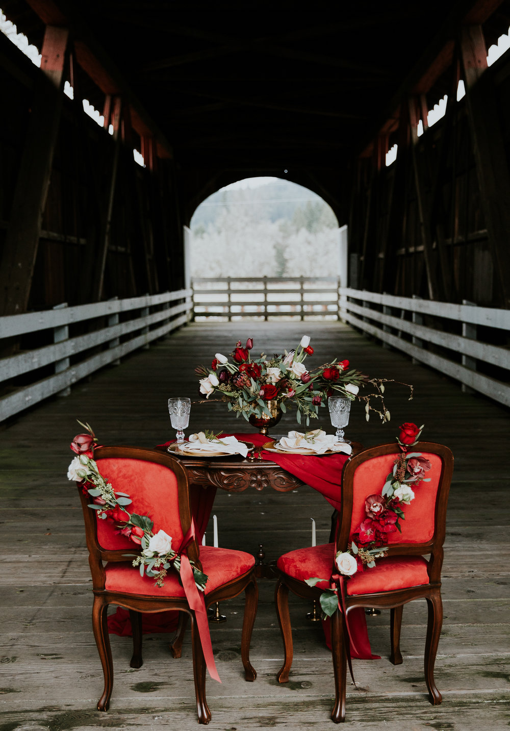 Covered Bridge Wedding Oregon