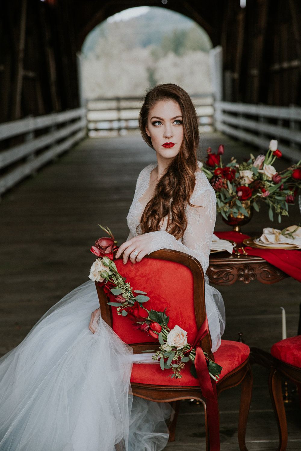Oregon Covered Bridge Wedding