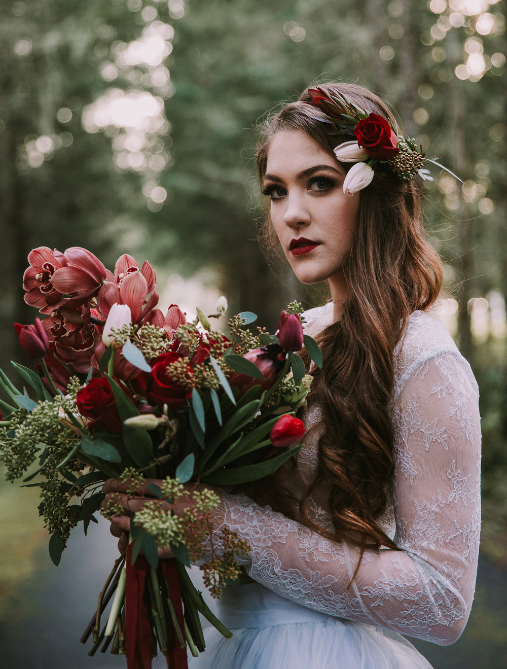 Oregon Valentines Wedding Inspiration