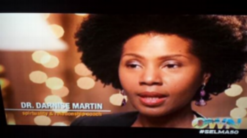 "Dr. Darnise, featured on the documentary, ""Light Girls,""  On The Oprah Winfrey Network"