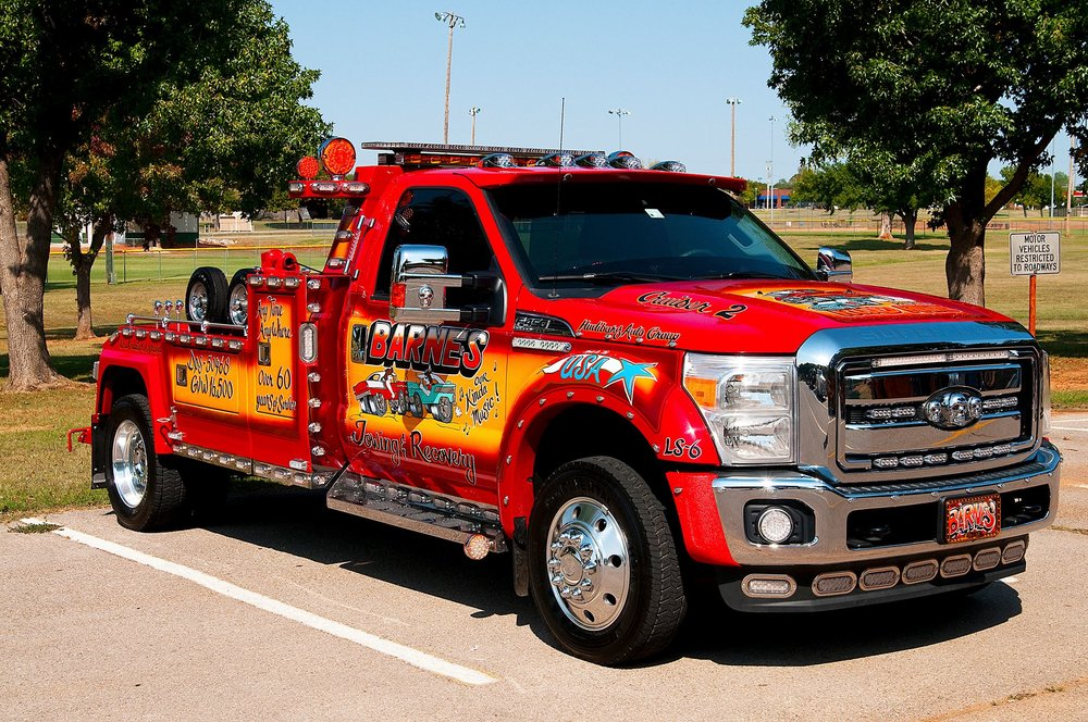 barnes wrecker service towing impound okc oklahoma city midwest city emergency car stalling car trouble roadside assistance tow truck car trouble stranded