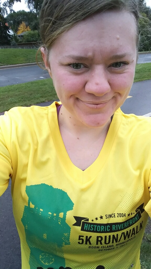 Ran my first 5k today! Many thanks to you getting me in my beat shape in 10 years! — L.C.