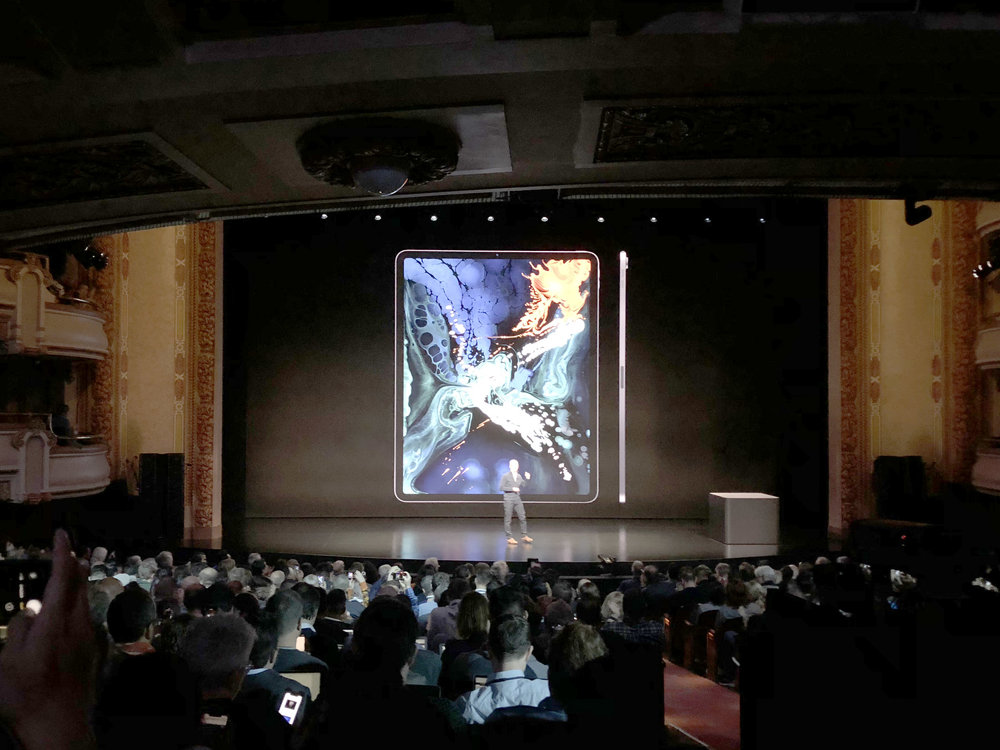 It was a clear, consistent presentation of the new iPad.