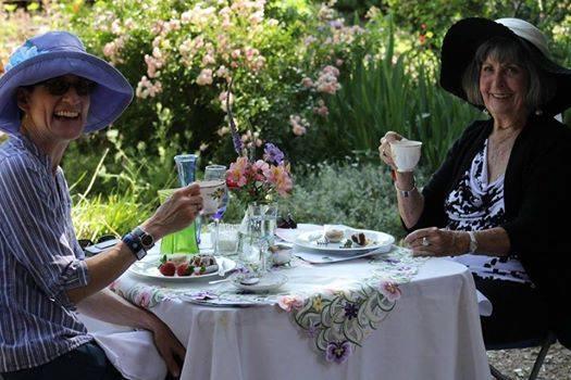 Hats and High Tea — Capay Valley Garden Tour