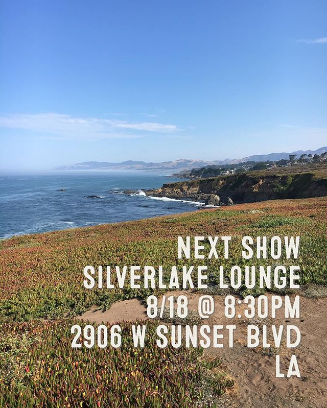 Looking forward to our Silverlake show! Doors open at 7, we're on at 8:30. Link to our debut album in bio! 21+