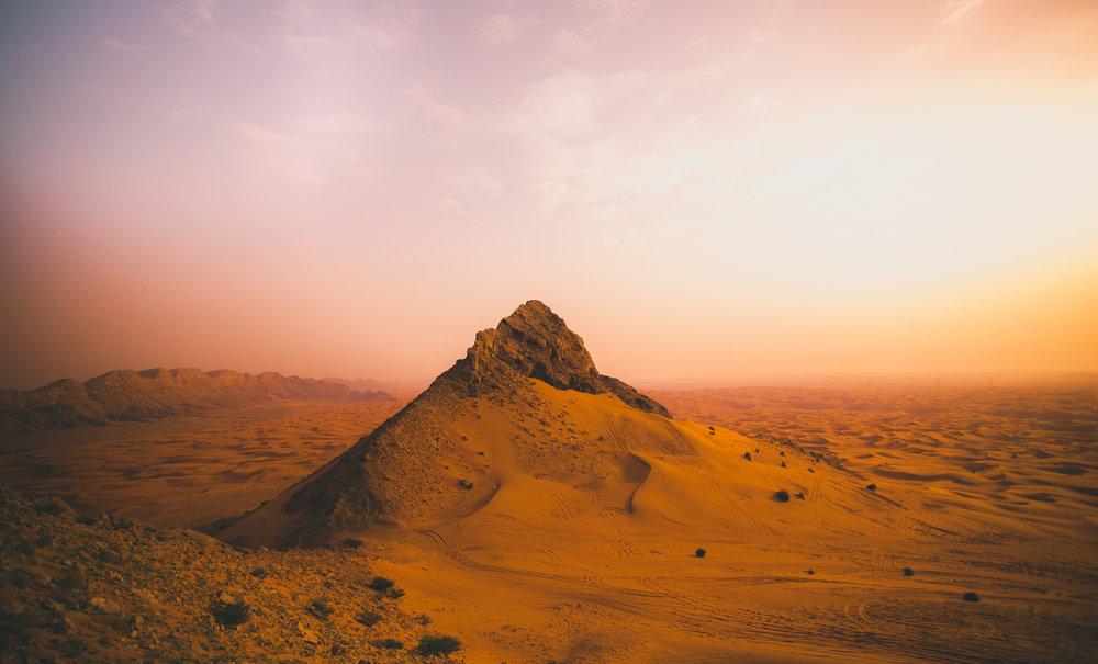 (Mleiha Desert)