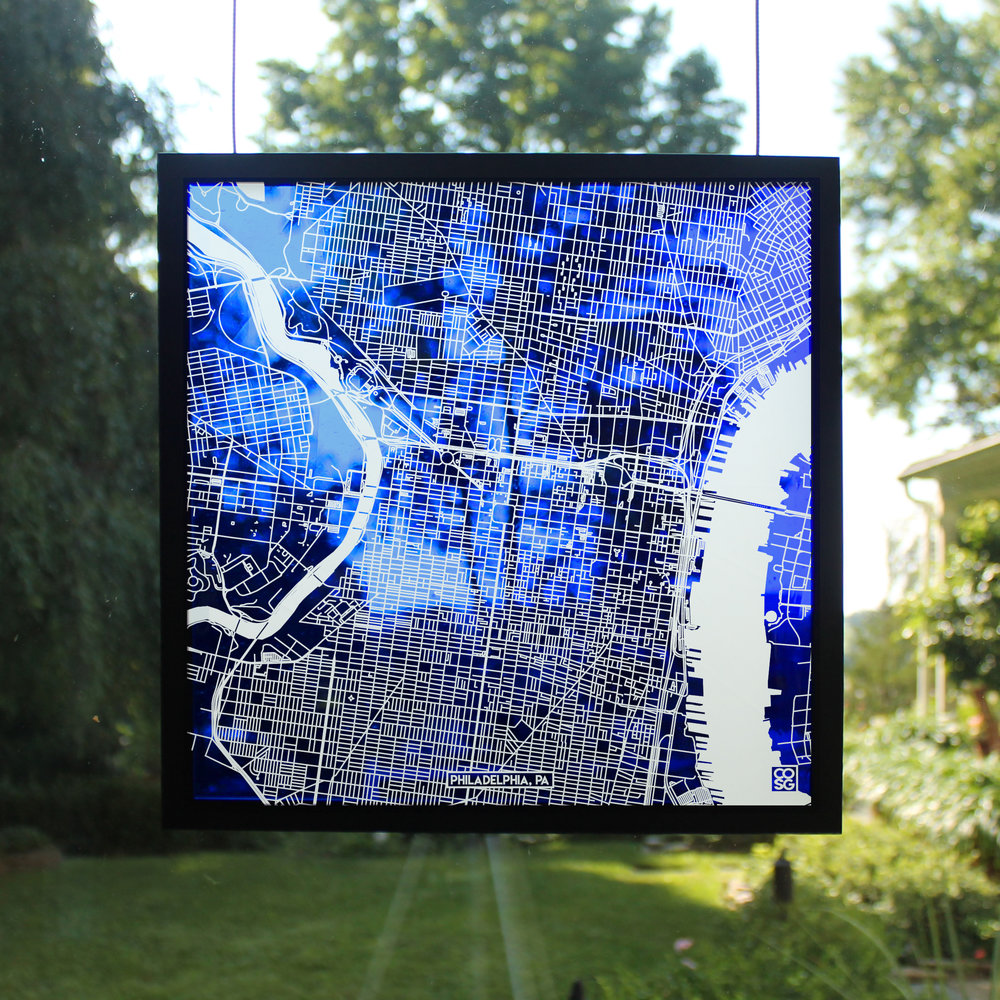 Stained Glass Maps - Exquisitely Detailed Maps Carved Into Handmade Glass.Use the search bar or scroll see your city as a glass map! All orders ship within 1-2 weeks.