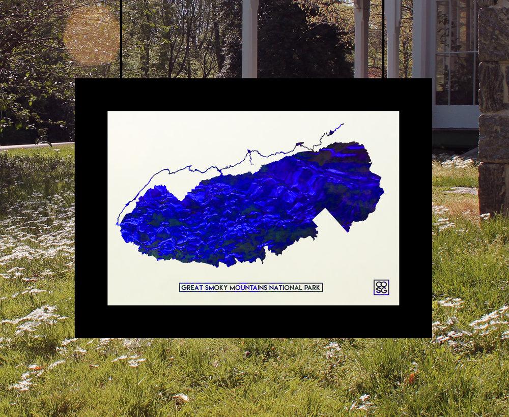 Smoky Mountains Park Boundary