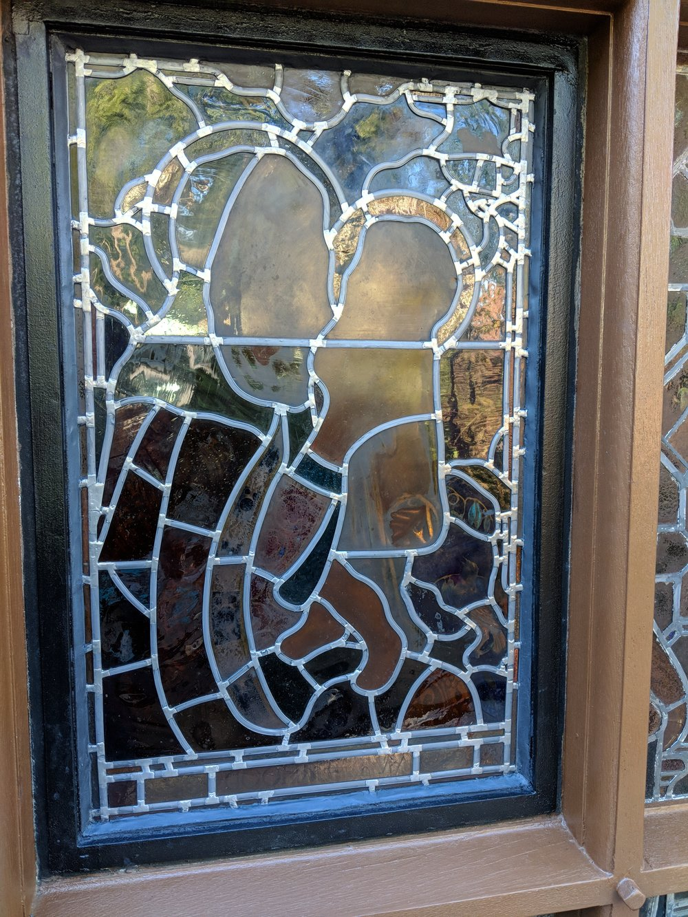The window is reinstalled, and ready to shine for the next 100 years!