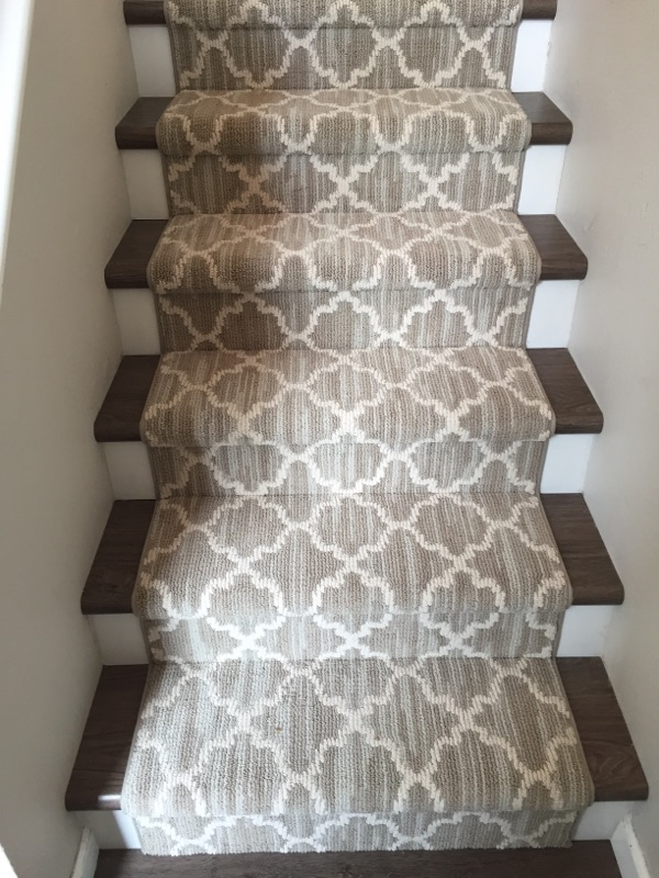 Bound stair runner