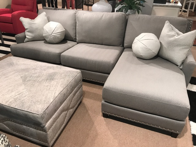 Gray Linkin Sectional
