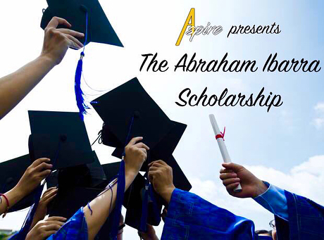 Special reminder:  The #AbrahamIbarraScholarship application cycle is now just a month away from closing! You can access the application by clicking the link in our bio section🙂