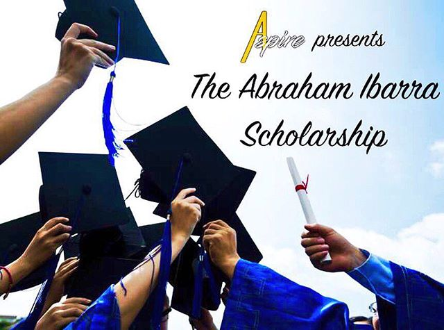 Special reminder to the VMHS Class of 2018:  The #AbrahamIbarraScholarship application cycle will be closing this Friday, MARCH 23RD.  Click the link our bio to apply. Thank you 😊