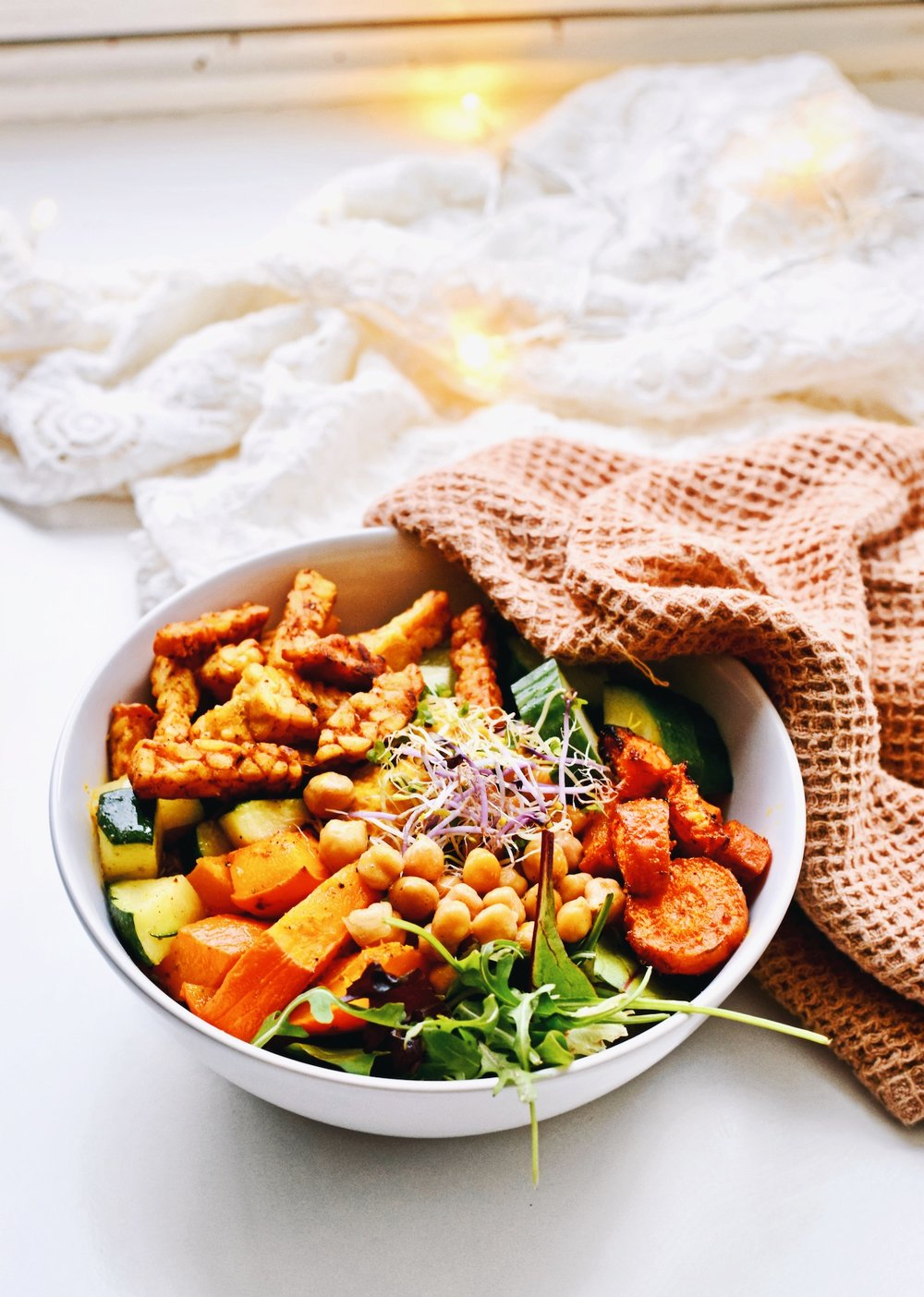 HEALTHY RECIPE | VEGETARIAN BUDDHA BOWL