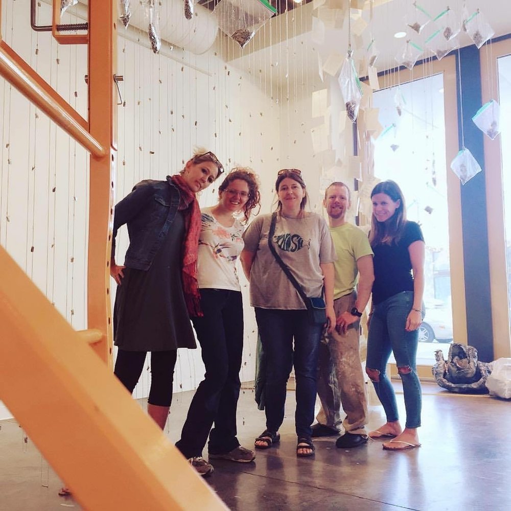 the team -