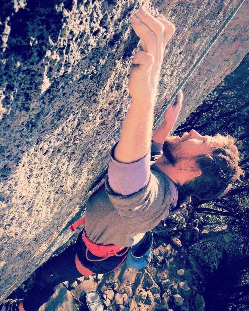 Allen climbing in France 2016.JPG