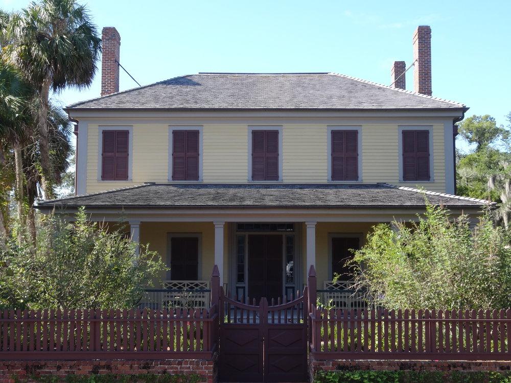 Dr Alvan Wentworth Chapman's home in Apalachicola