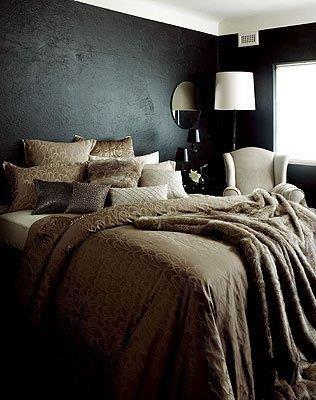 Black bedroom with tan linen.jpg