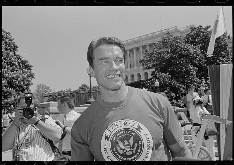 Arnold_Schwarzenneger_on_Capitol_Hill
