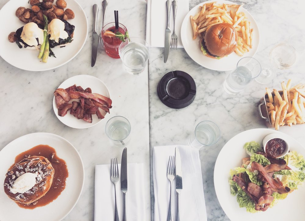 Dublin: Brunch in city centre south