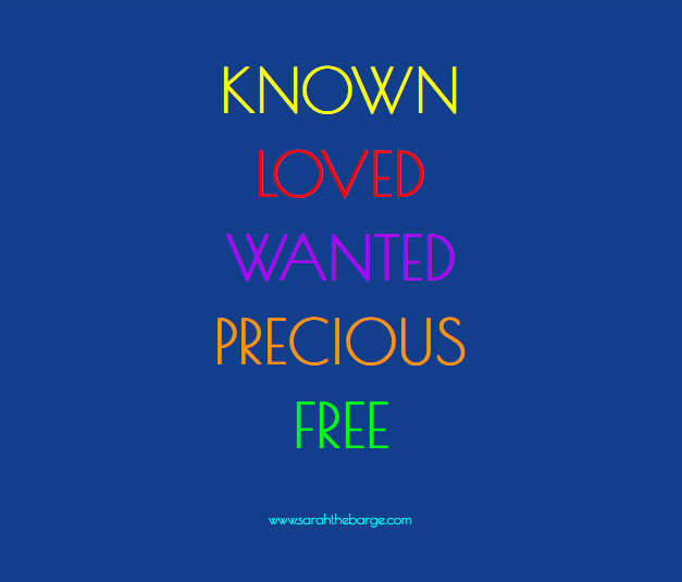 knownlovedwantedpreciousfree