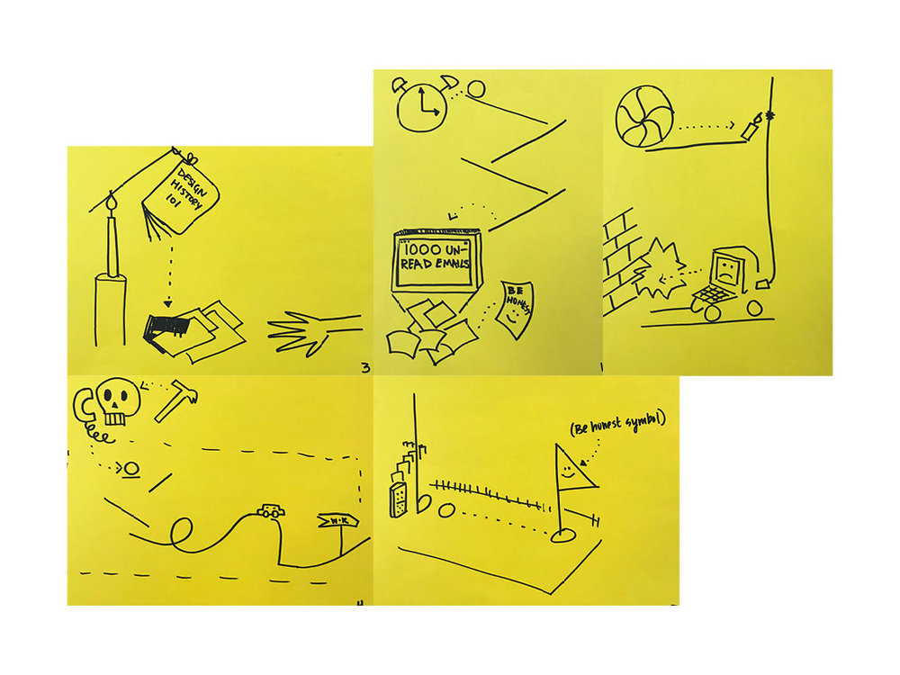 Storyboarding and prototyping with Leah Maldonado and Maryana Kuznetsova
