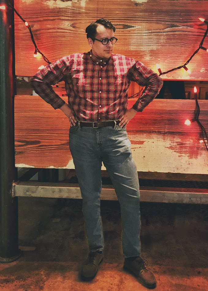 Secondly, I was able to channel my inner Barb for a Stranger Things inspired costume.