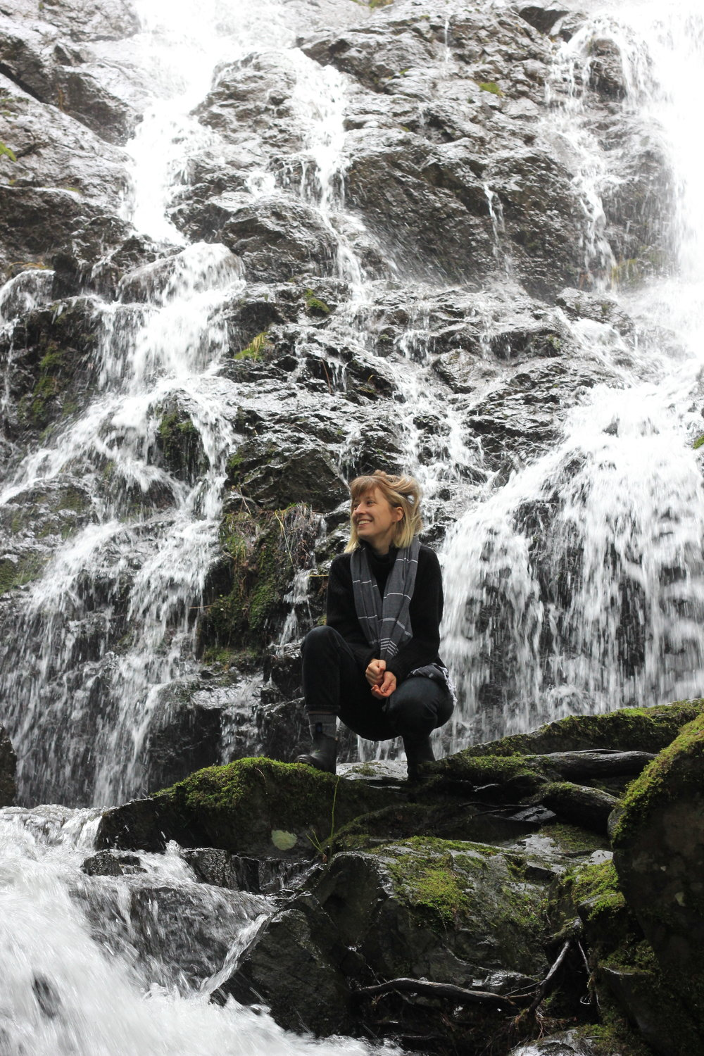 Bryanna has been the brightest light during my darkest times. (I also love waterfalls).
