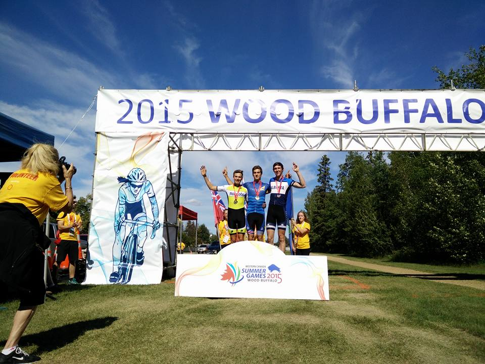 Funnily enough, my podiums at both Westerns and Manitoba games were for MTB races.