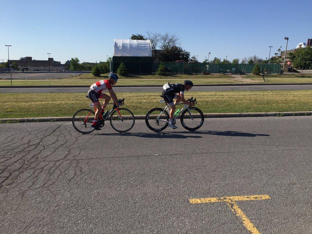Break away at 2016 Junior Road Nationals in Ottawa.