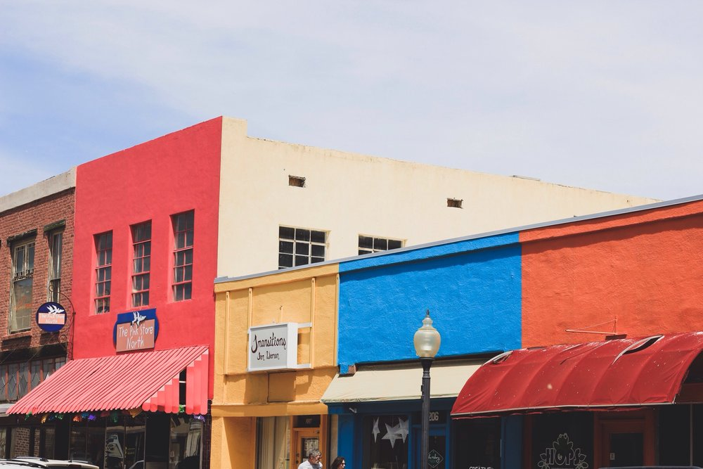 Silver City is tiny and colourful.