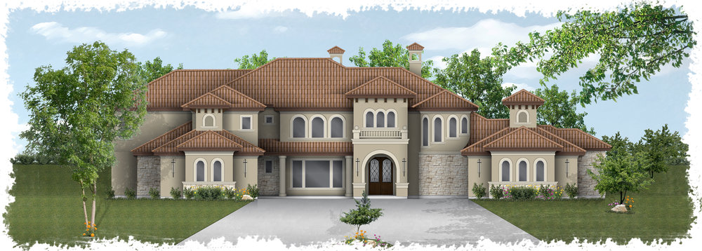 Architectural Design - We have contacts with multiple architects and designers who will work along side you in designing your hill country home.