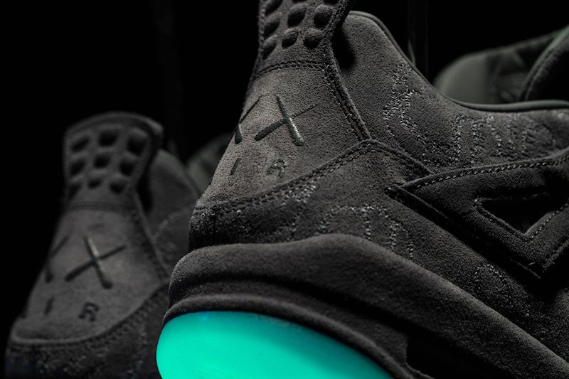 64875d56c98 Black KAWS x Jordan Retro 4 — MegaHerd Supply