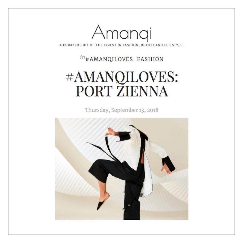 Amanqi — September 2018