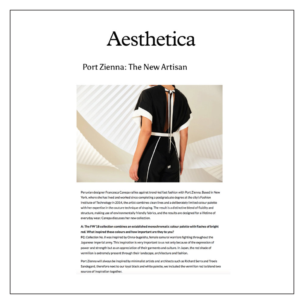 Aesthetica Magazine — March 2018