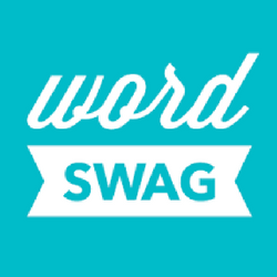WORD SWAG - Word swag is also great for making quote graphics. It offers a different style than those found in Canva so if you are looking for variety, Word Swag is the place to go.