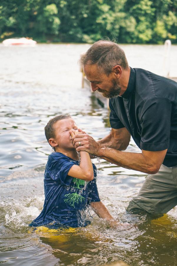 Cash's Baptism