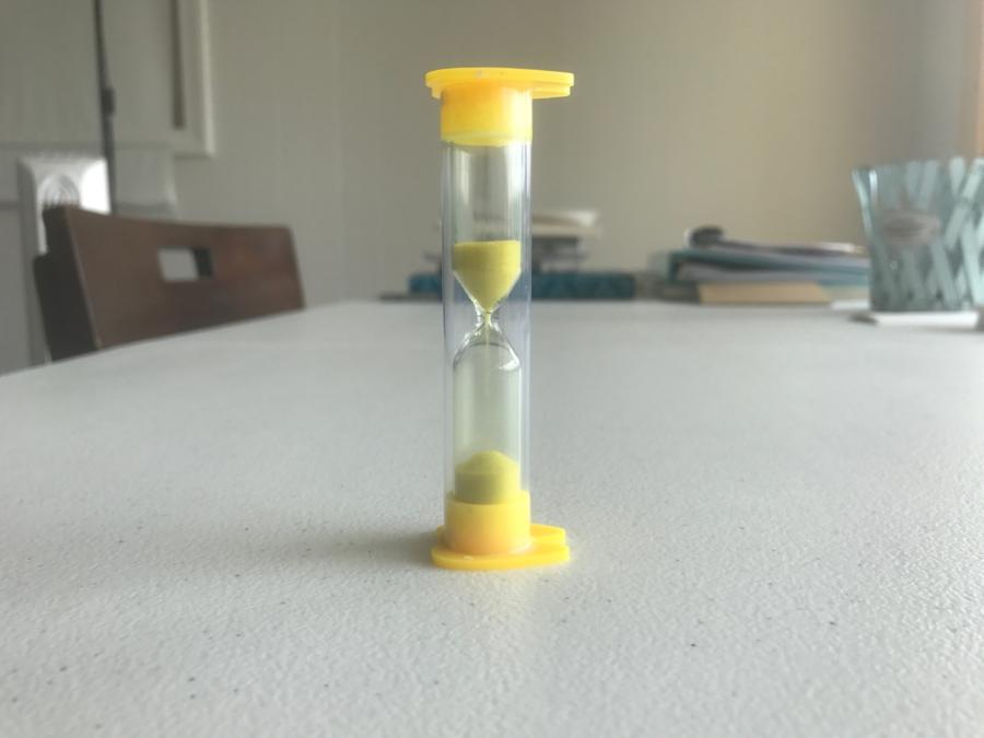 Hourglass Half Full